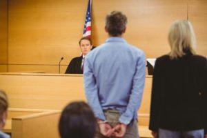 judge sets a bail amount