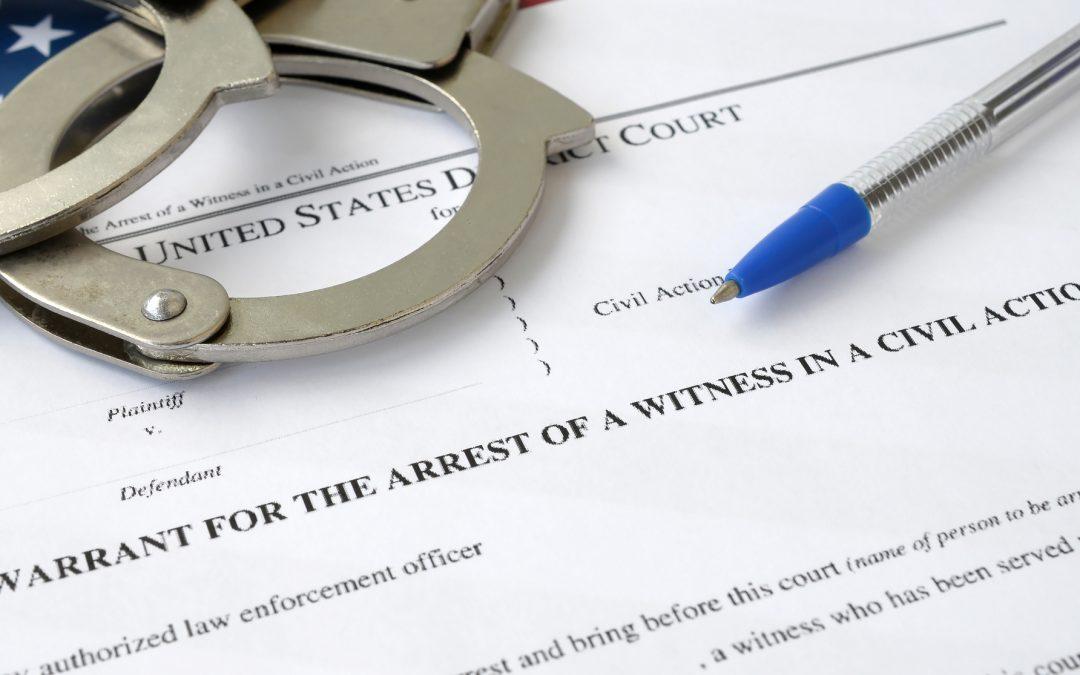 Bench Warrant Vs Arrest Warrant